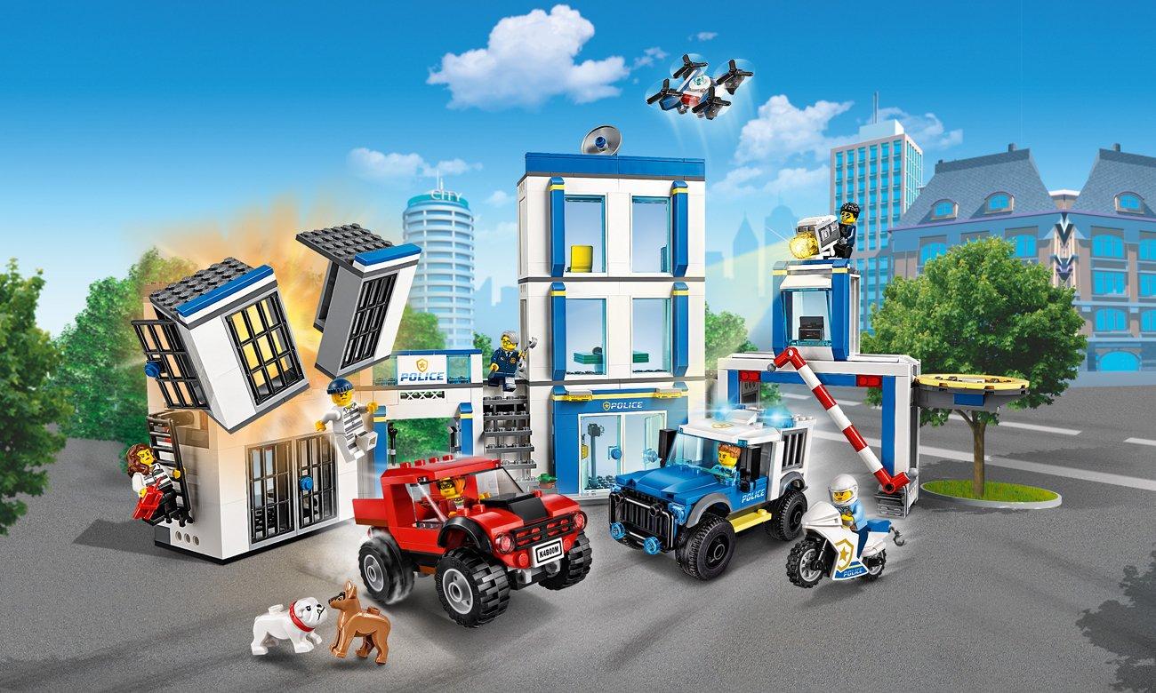 LEGO City Posterunek policji