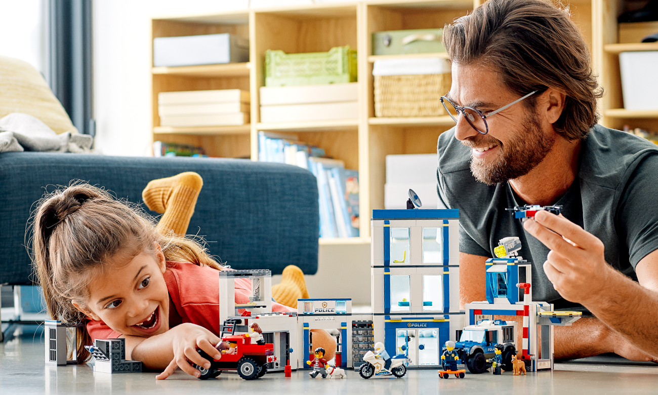 zestaw lego city laweta