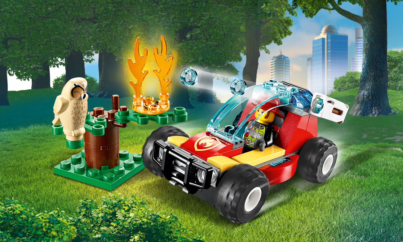LEGO City Pożar lasu