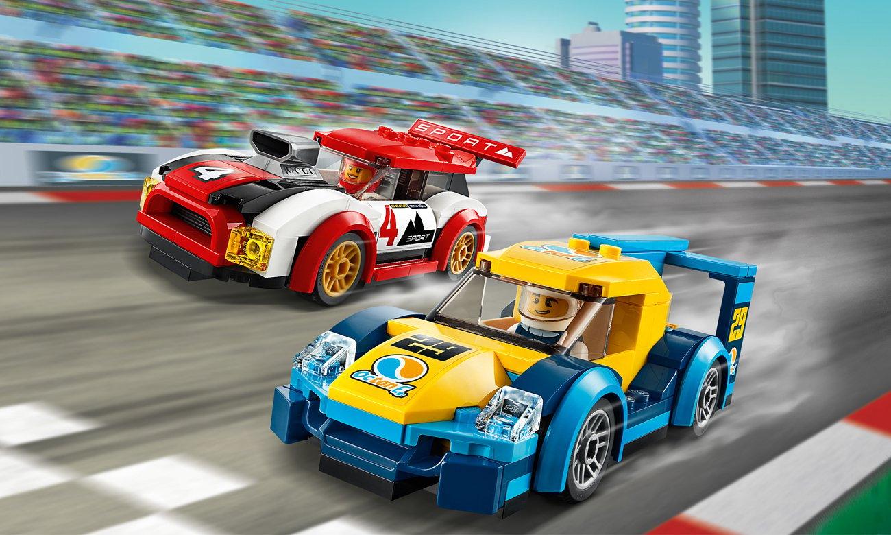 LEGO City Samochody wyścigowe
