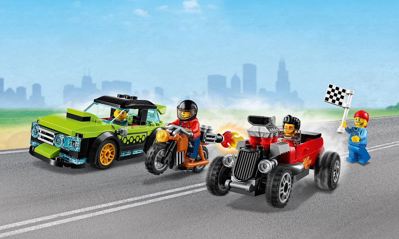 lego pojazdy wyścigowe