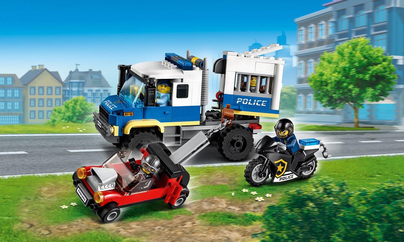 LEGO City Policyjny konwój więzienny