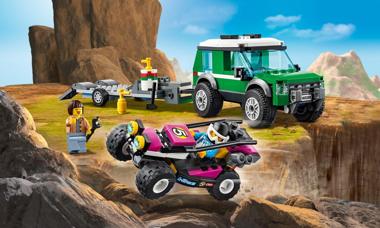 LEGO City Transporter łazika wyścigowego