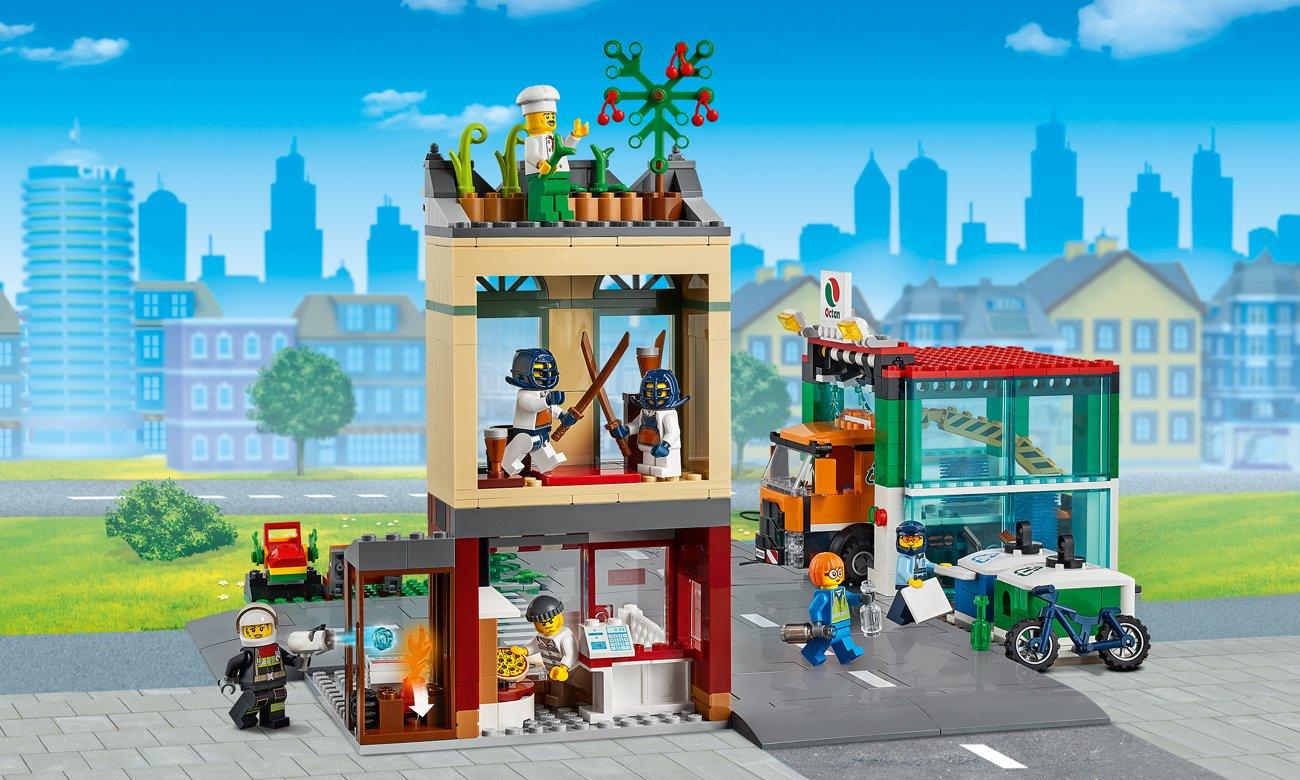 zestaw lego city miasto