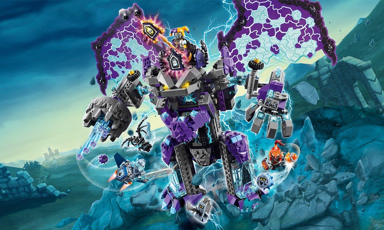 LEGO Nexo Knights Niszczycielski Kamienny Kolos