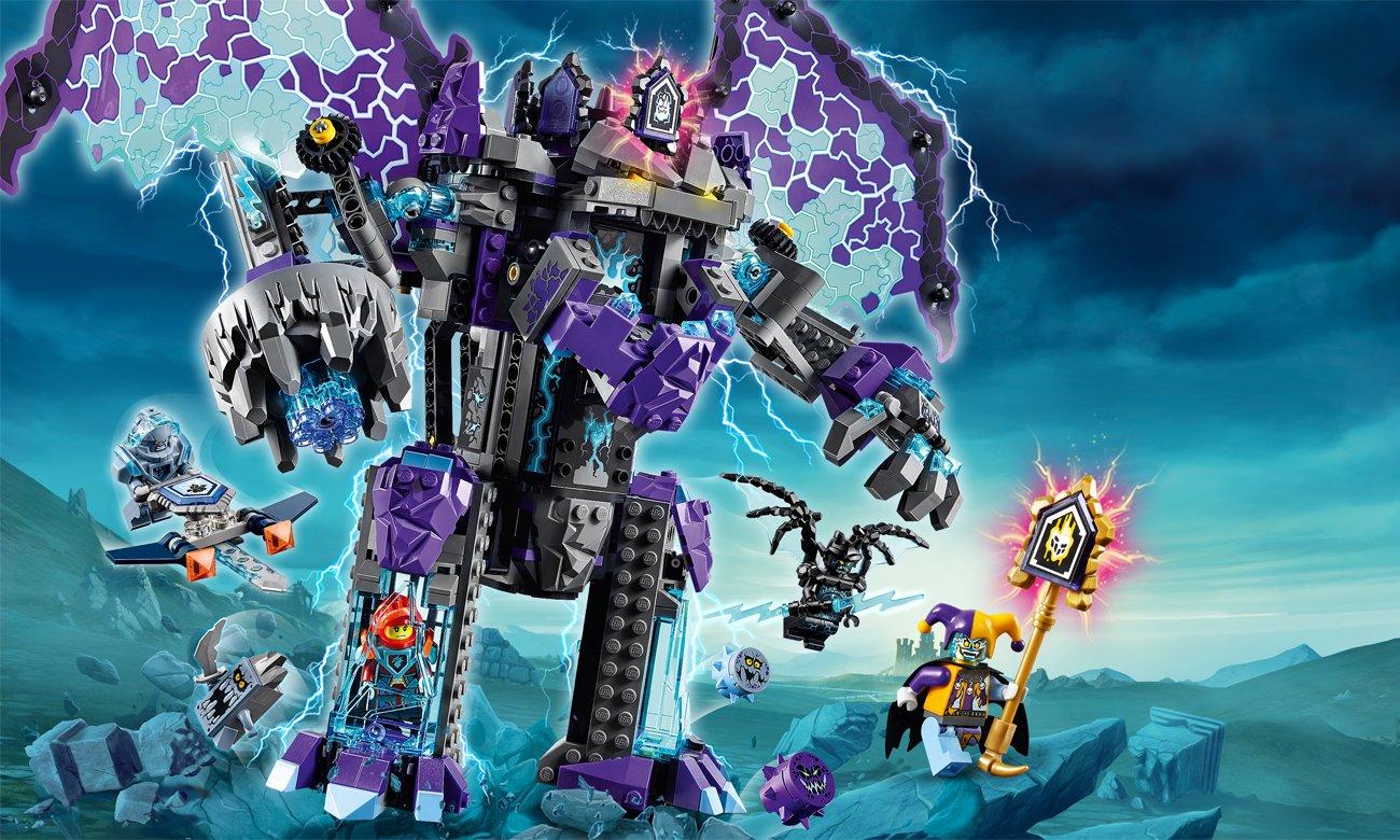zestaw lego nexo knights
