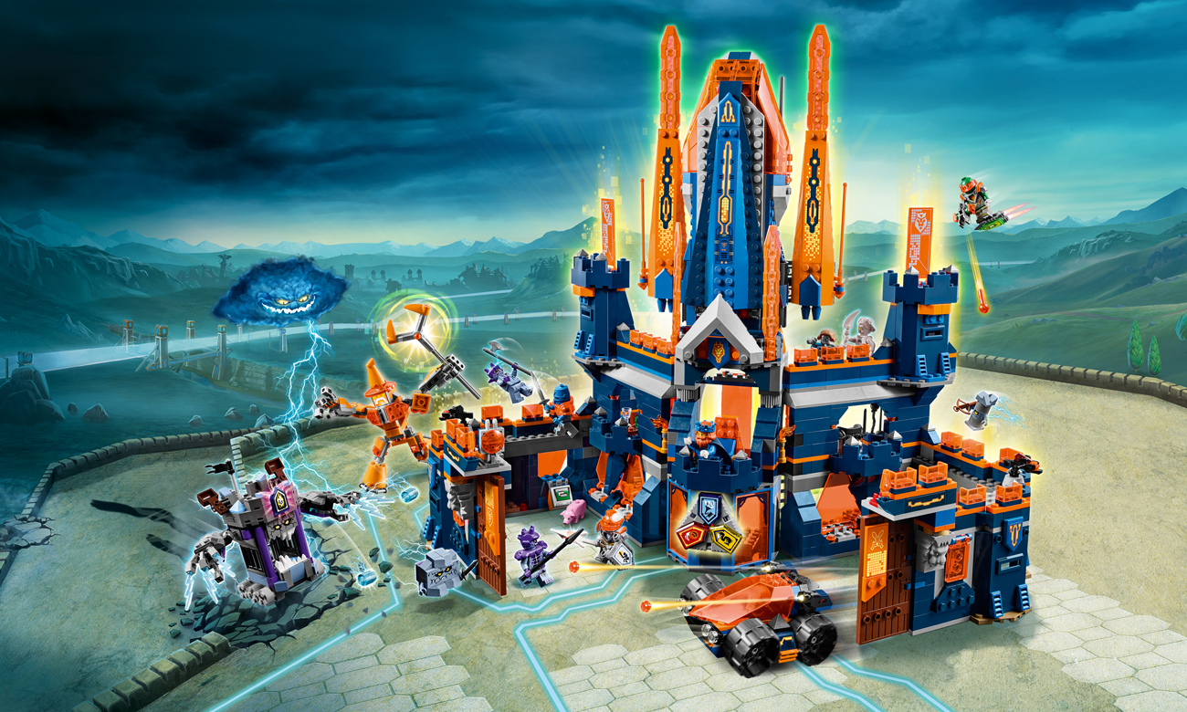 LEGO Nexo Knights Zamek Knighton