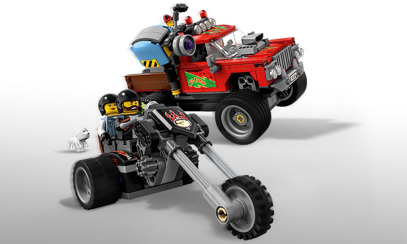 LEGO® Hidden Side™ 70421 Samochód kaskaderski El Fuego