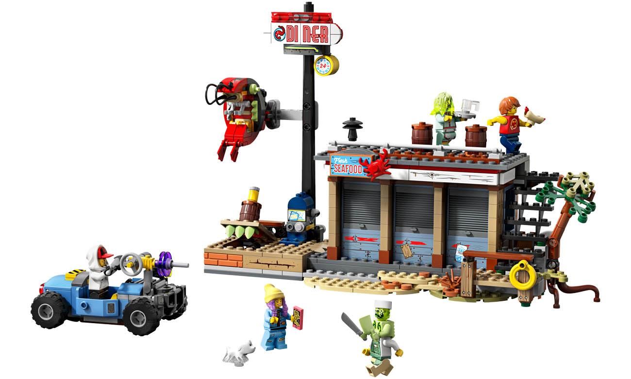 LEGO® Hidden Side™ 70422 Kłopoty w restauracji