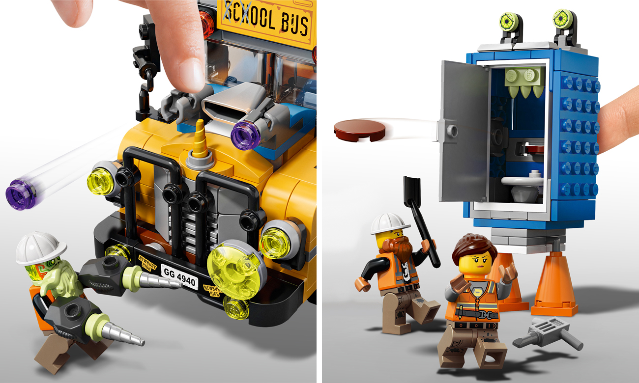 LEGO Hidden Side 70423 Autobus Duchozwalczacz 3000