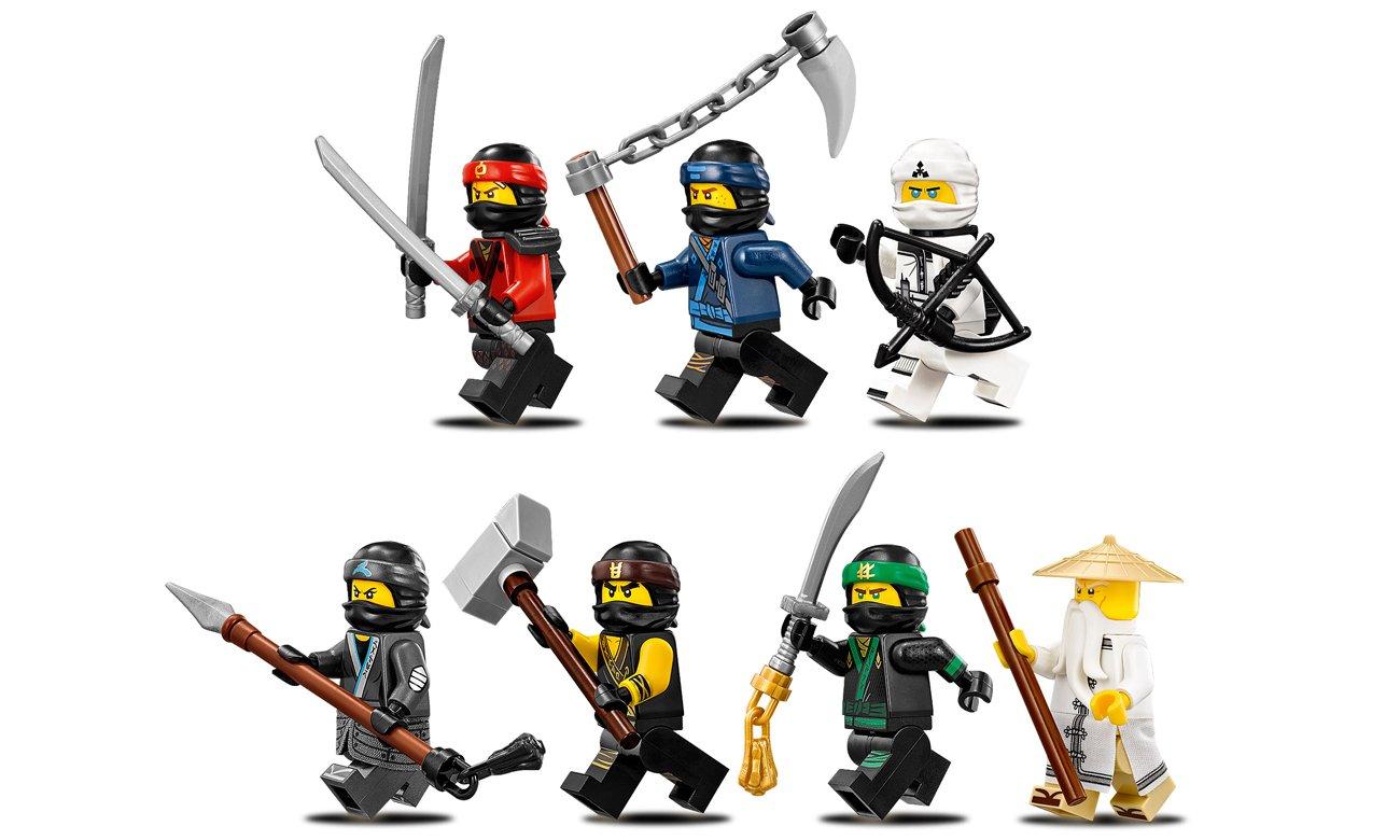 minifigurki ninjago