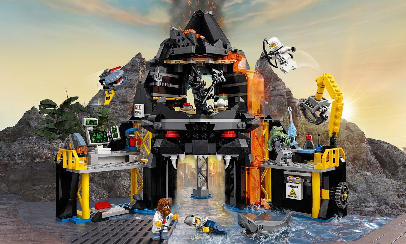 LEGO NINJAGO Movie Wulkaniczna kryjówka Garmadona