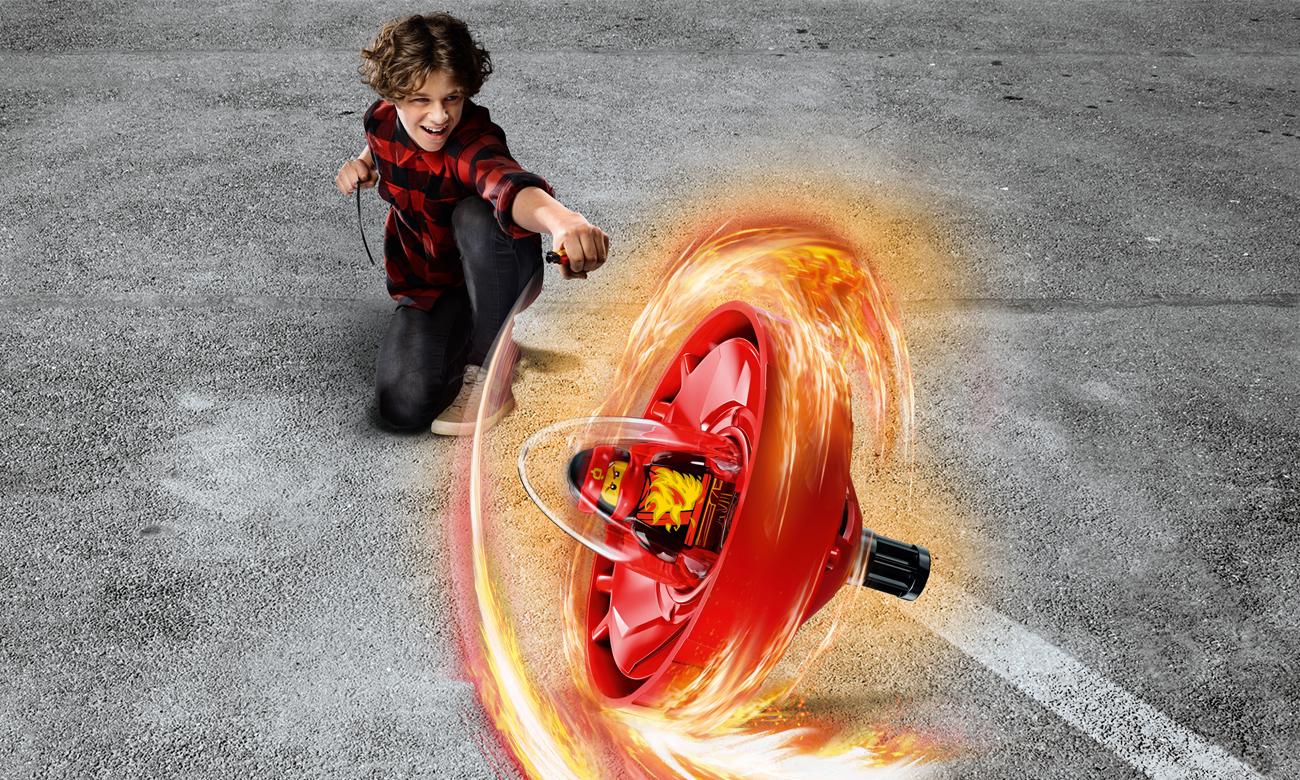 LEGO NINJAGO Kai - mistrz Spinjitzu
