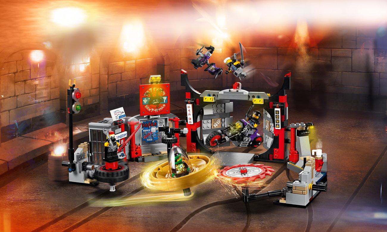 LEGO NINJAGO Kwatera główna S.O.G.