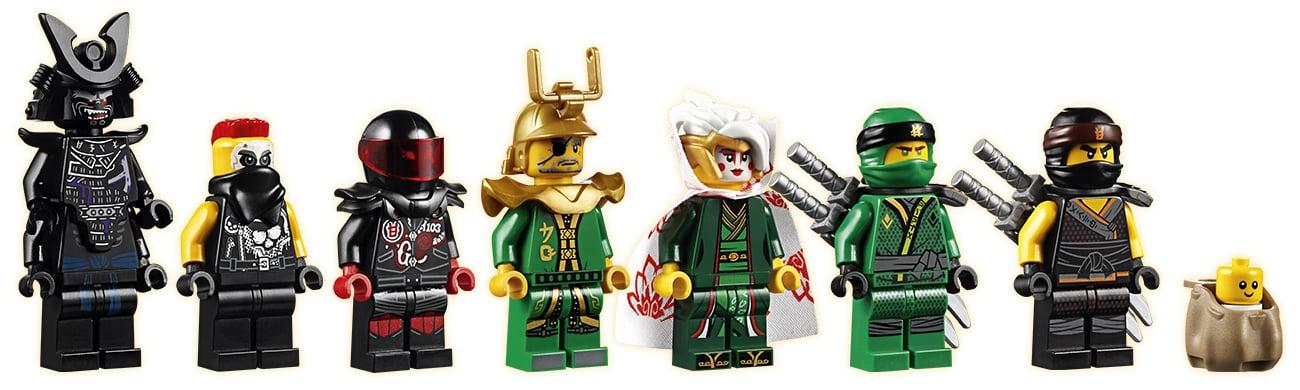 lego ninjago minifigurki