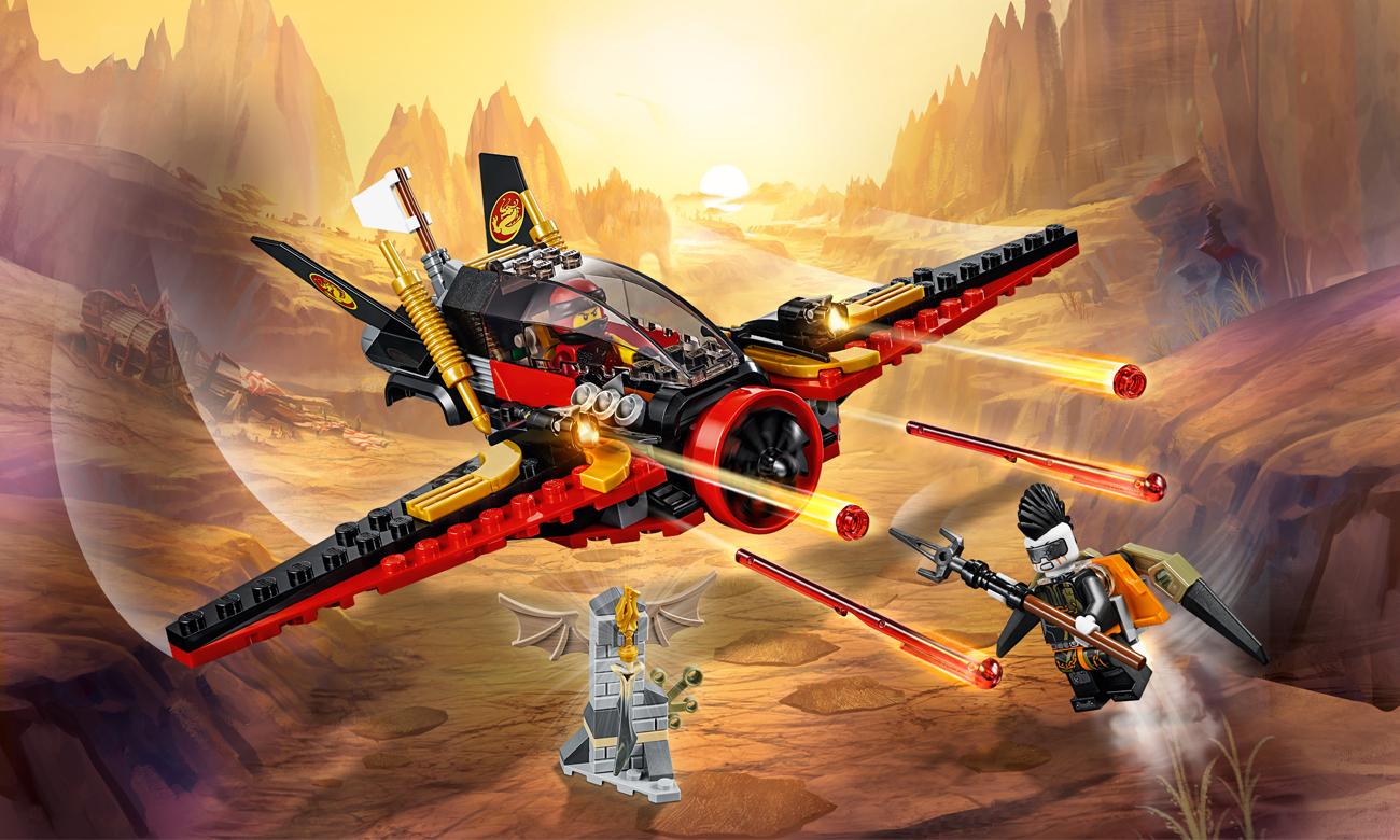 LEGO NINJAGO Skrzydło przeznaczenia