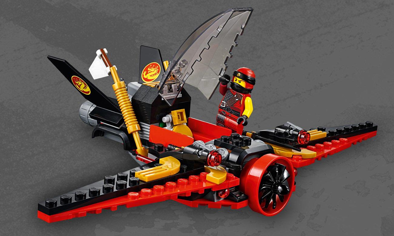 lego ninjago samolot