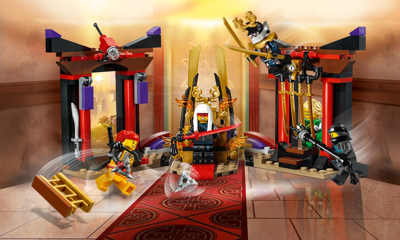 LEGO NINJAGO Starcie w sali tronowej