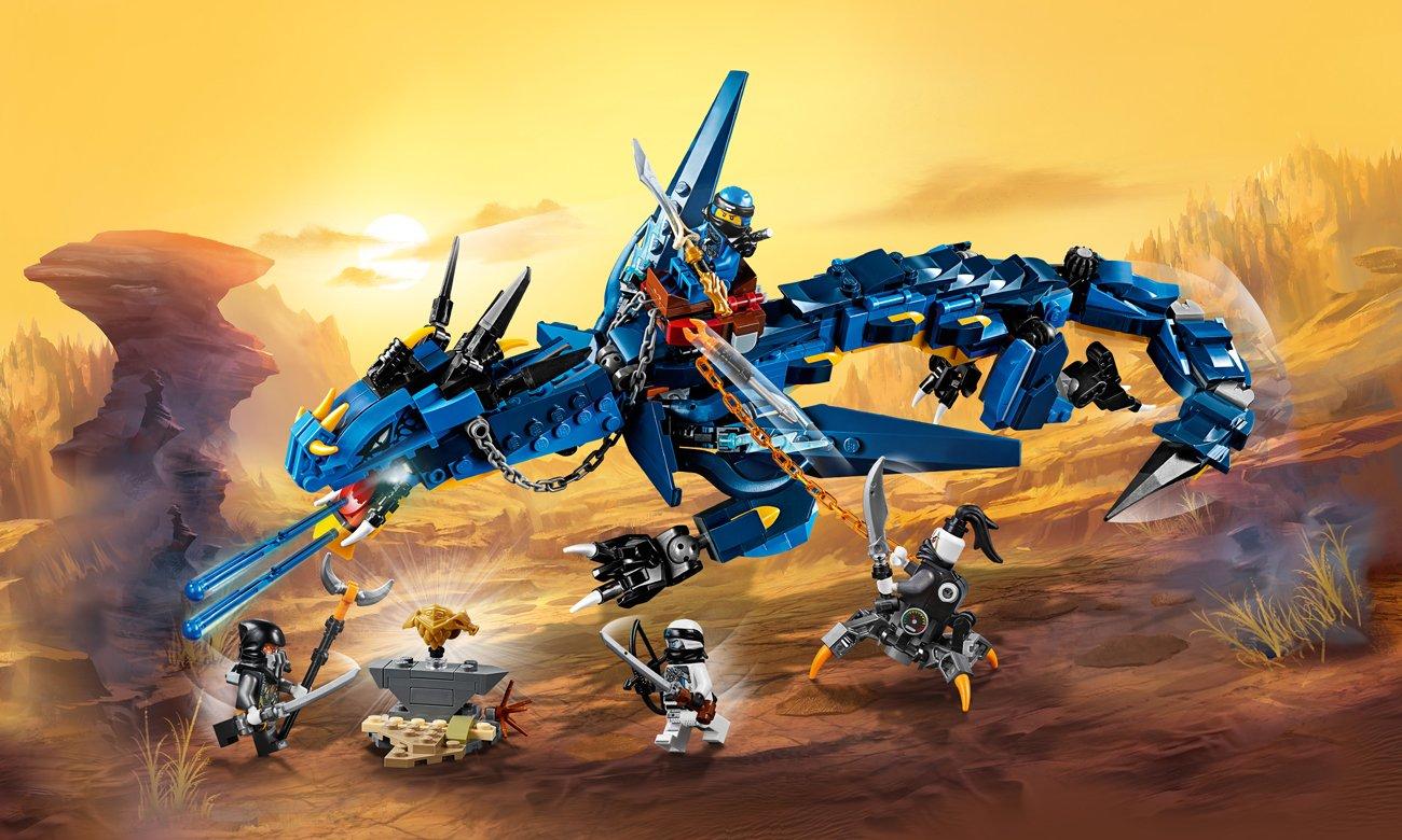 LEGO NINJAGO Zwiastun Burzy