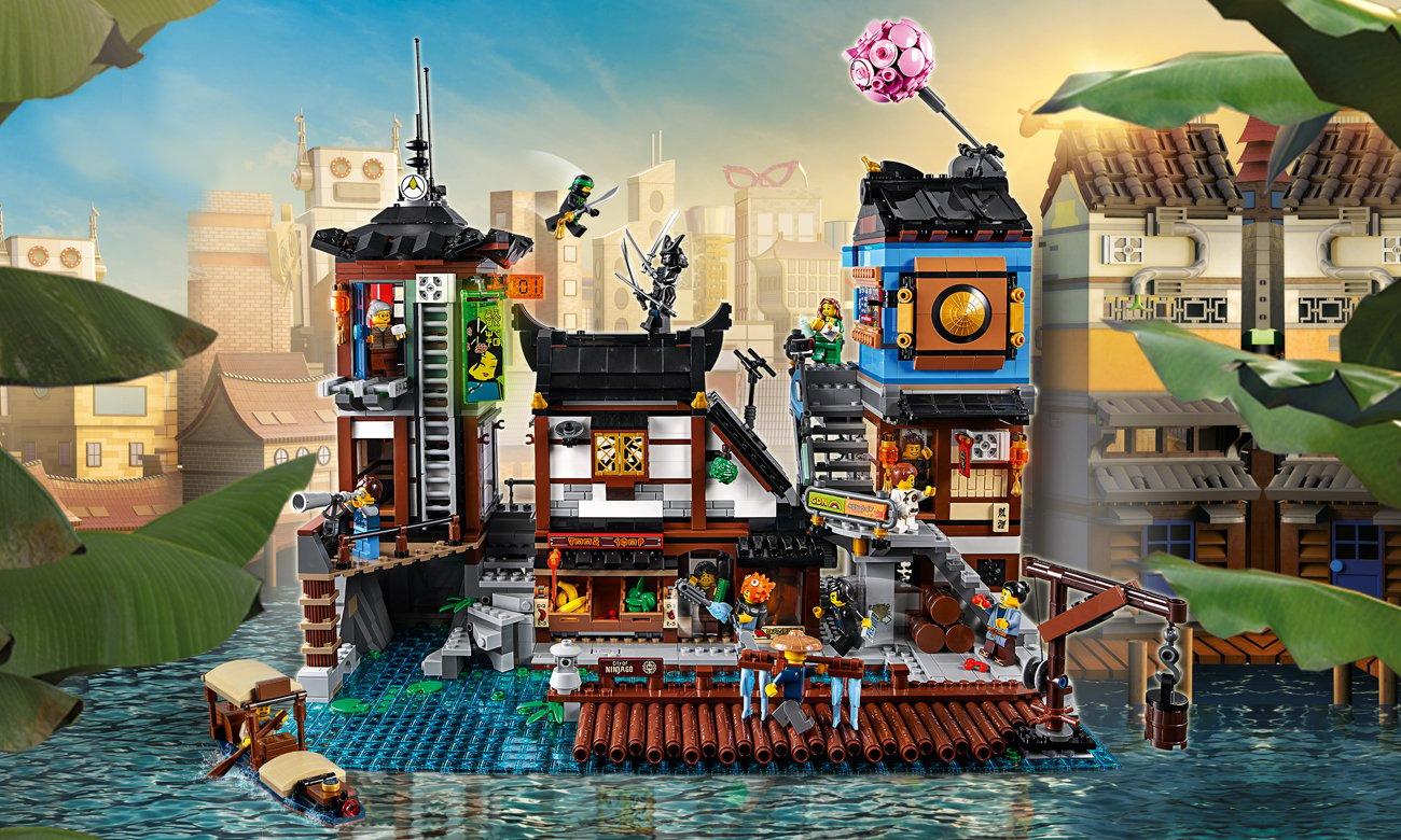 LEGO NINJAGO Movie Doki w Mieście NINJAGO