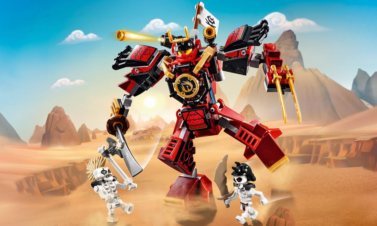 LEGO NINJAGO Mech - samuraj