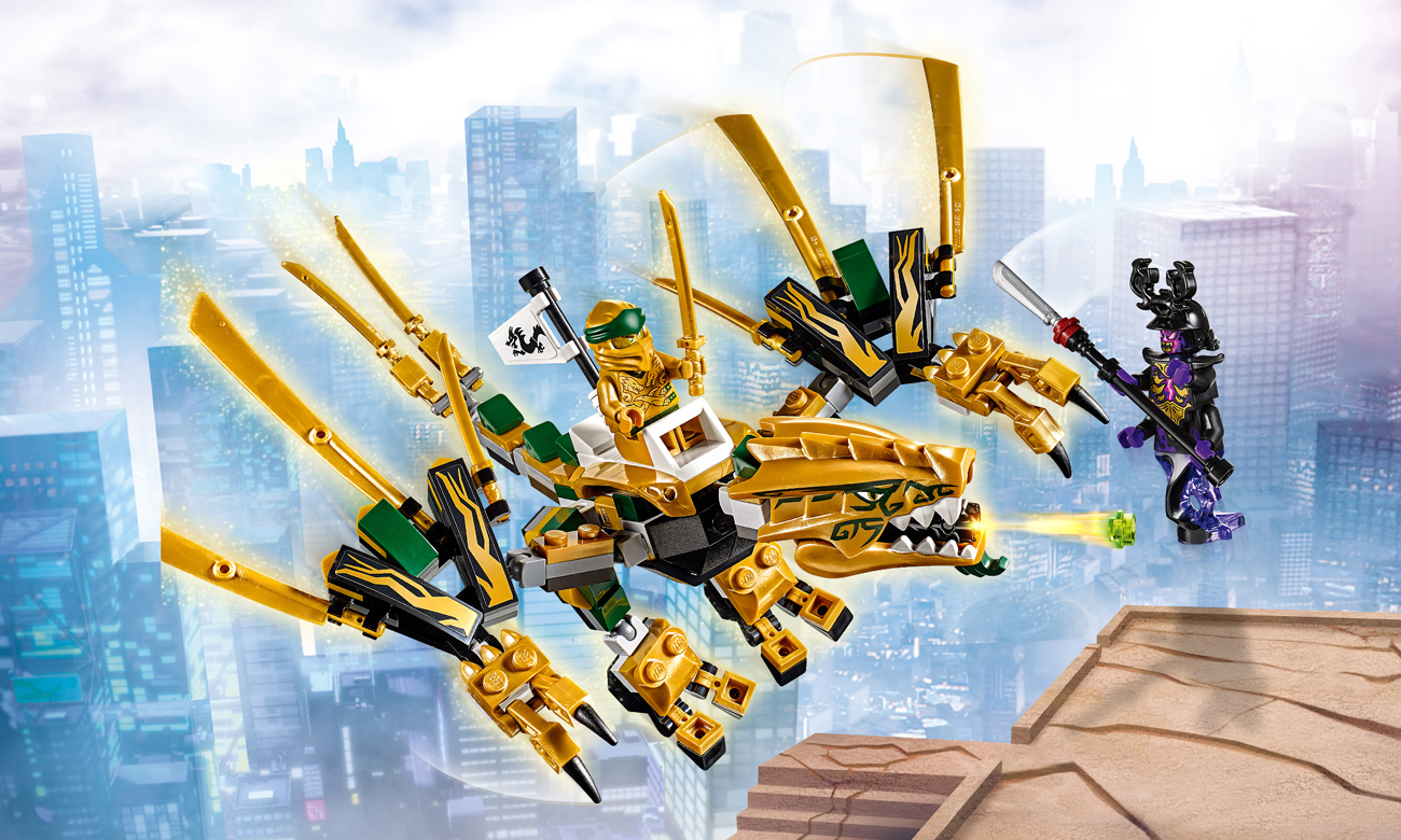 Lego Ninjago Złoty Smok Klocki Lego Sklep Internetowy Alto