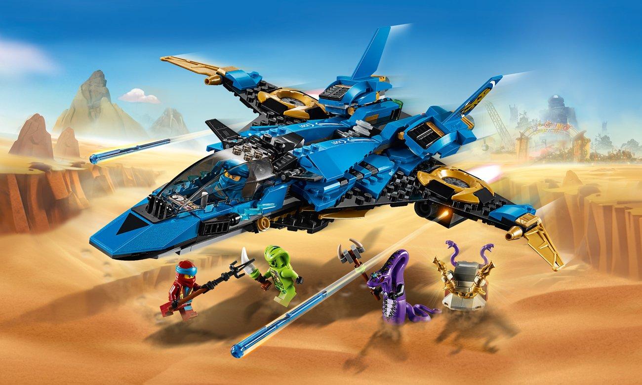 LEGO NINJAGO Burzowy myśliwiec Jaya