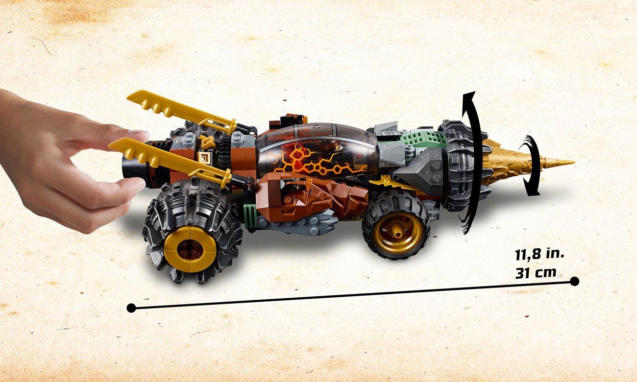 lego ninjago pojazd