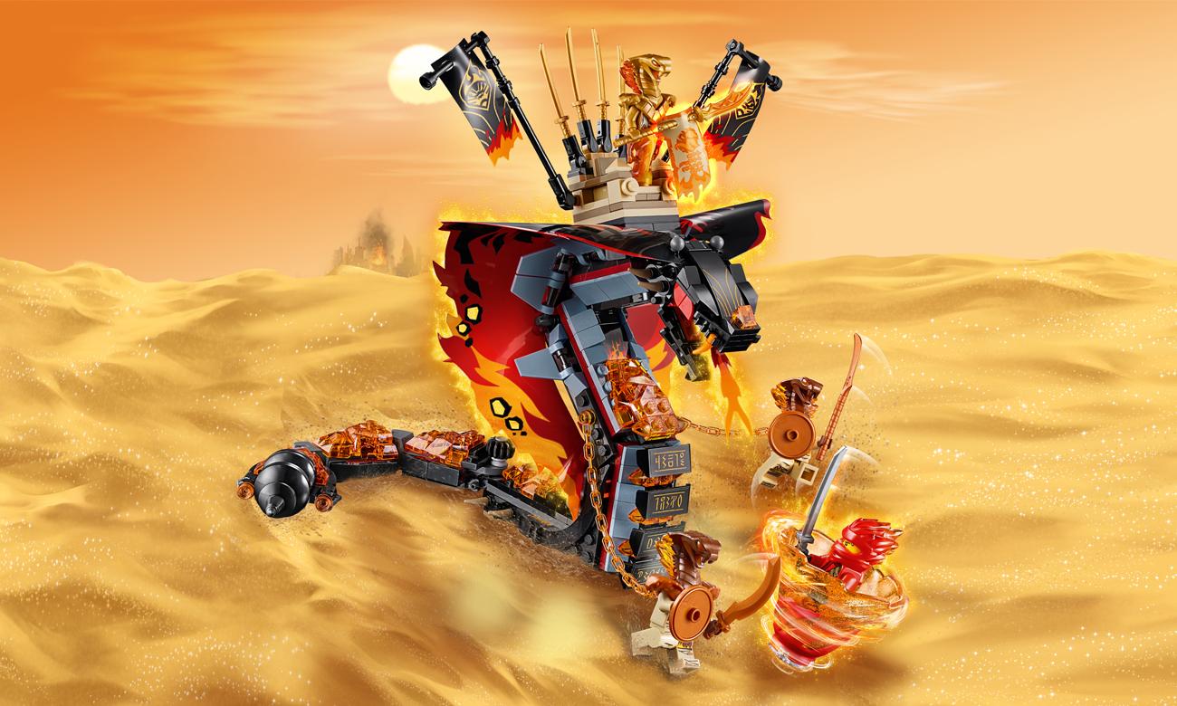 LEGO NINJAGO Ognisty kieł