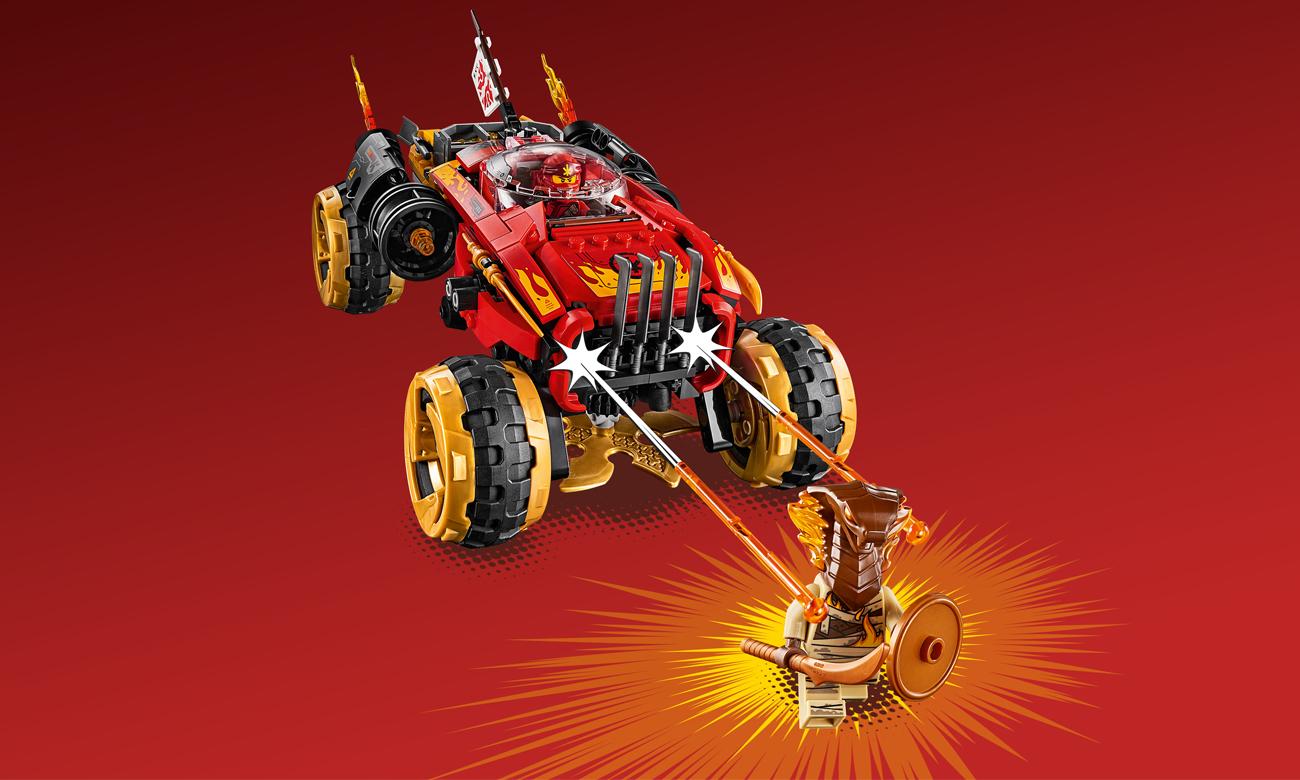 lego ninjago pojazd ninja