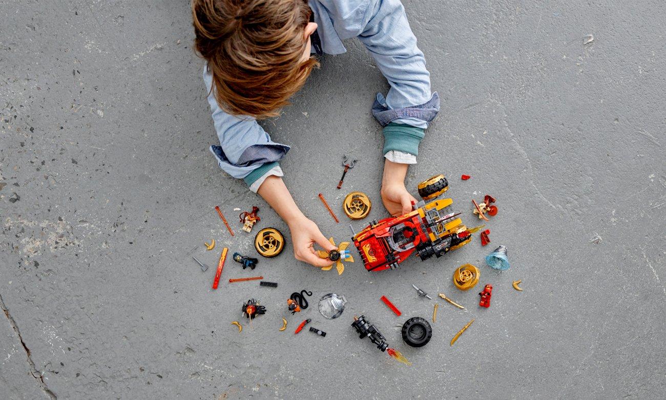 aplikacja lego z instrukcjami