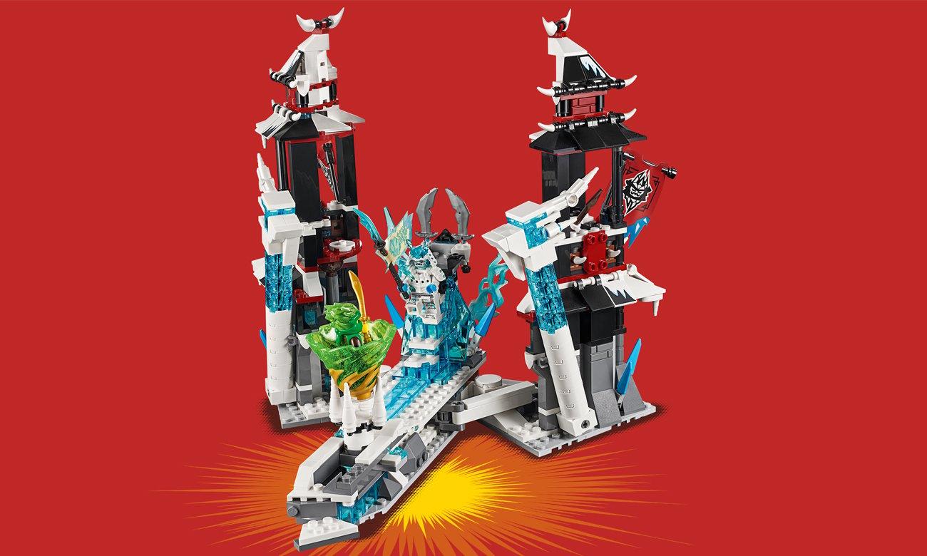 lego ninjago zamek
