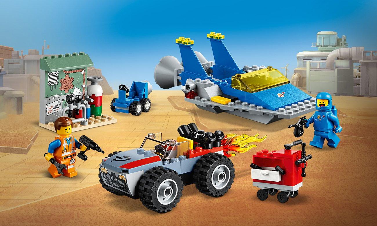 LEGO Movie 2 Warsztat Emmeta i Benka