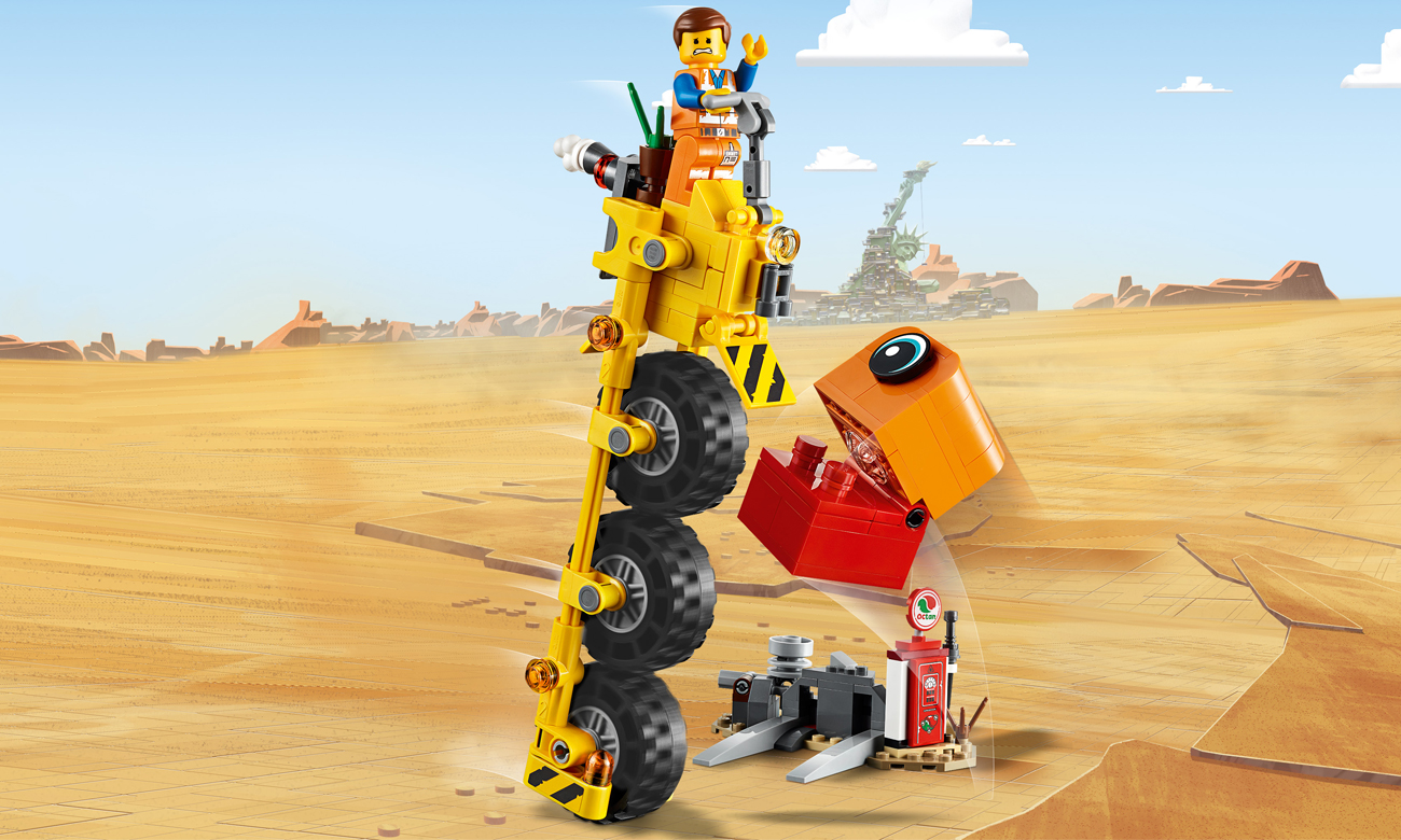 LEGO Movie 2 Trójkołowiec Emmeta