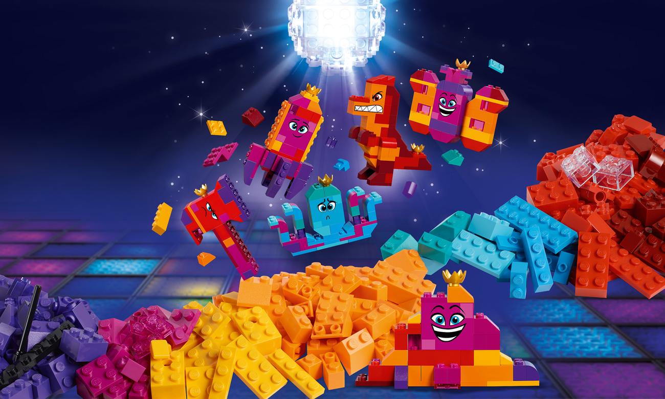 LEGO Movie 2 Pudełko konstruktora Królowej Wisimi!