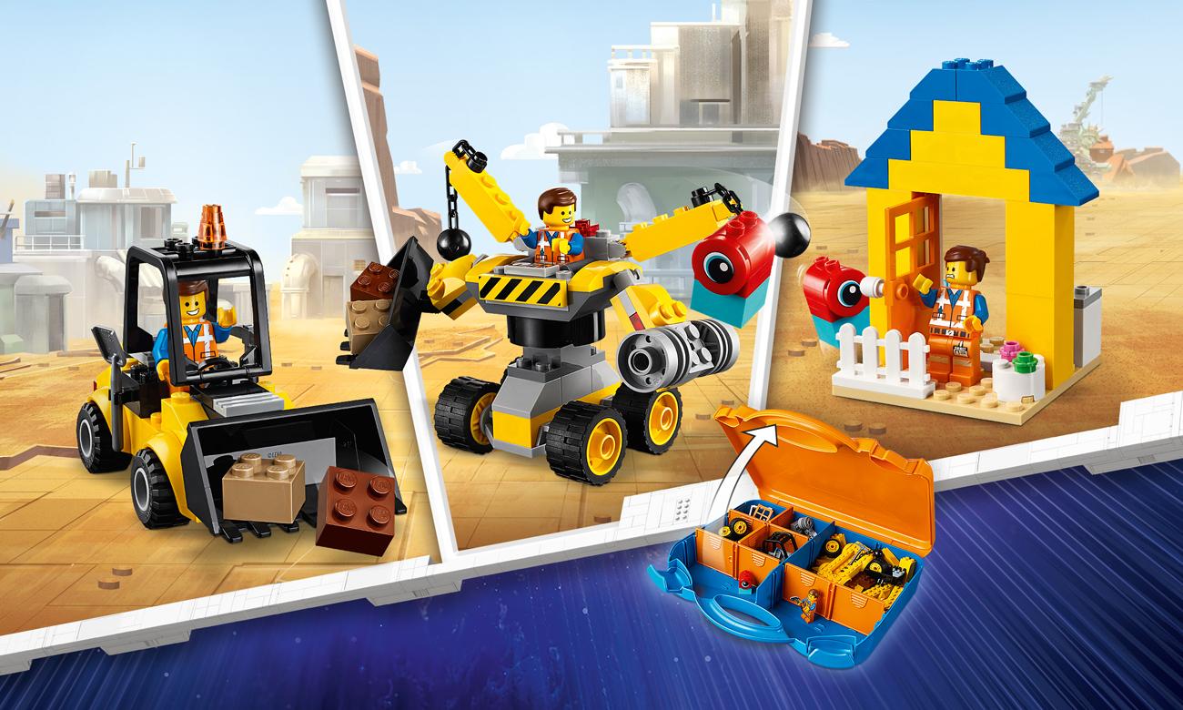LEGO Movie 2 Movie Zestaw konstrukcyjny Emmeta