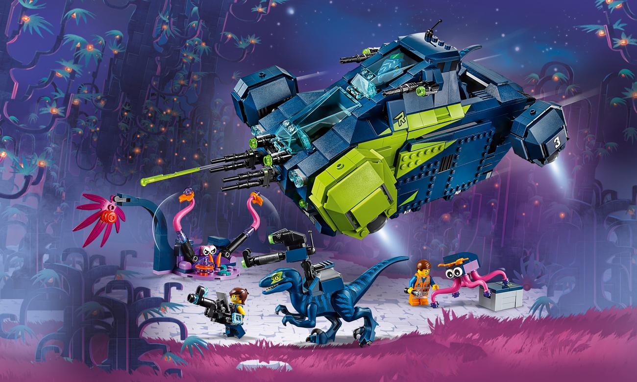 LEGO Movie 2 Rexplorer Rexa!