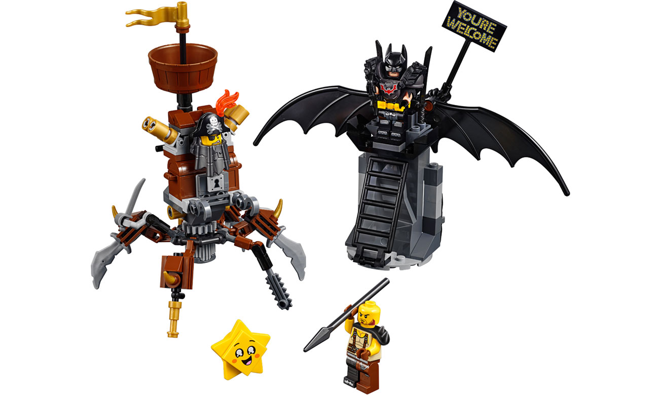 Zestaw LEGO Movie Batman i Stalowobrody 70836