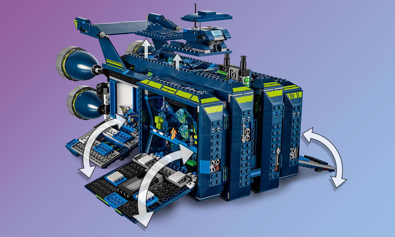 film lego przygoda statek kosmiczny