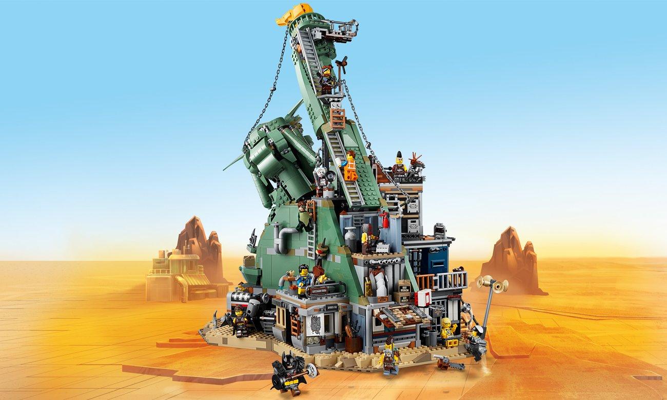 film lego przygoda zestaw statua wolności