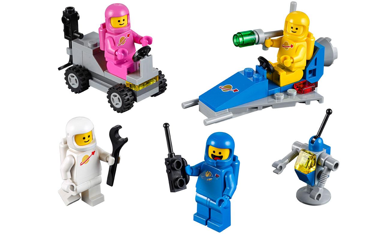 Zestaw LEGO Movie Kosmiczna drużyna Benka 70841