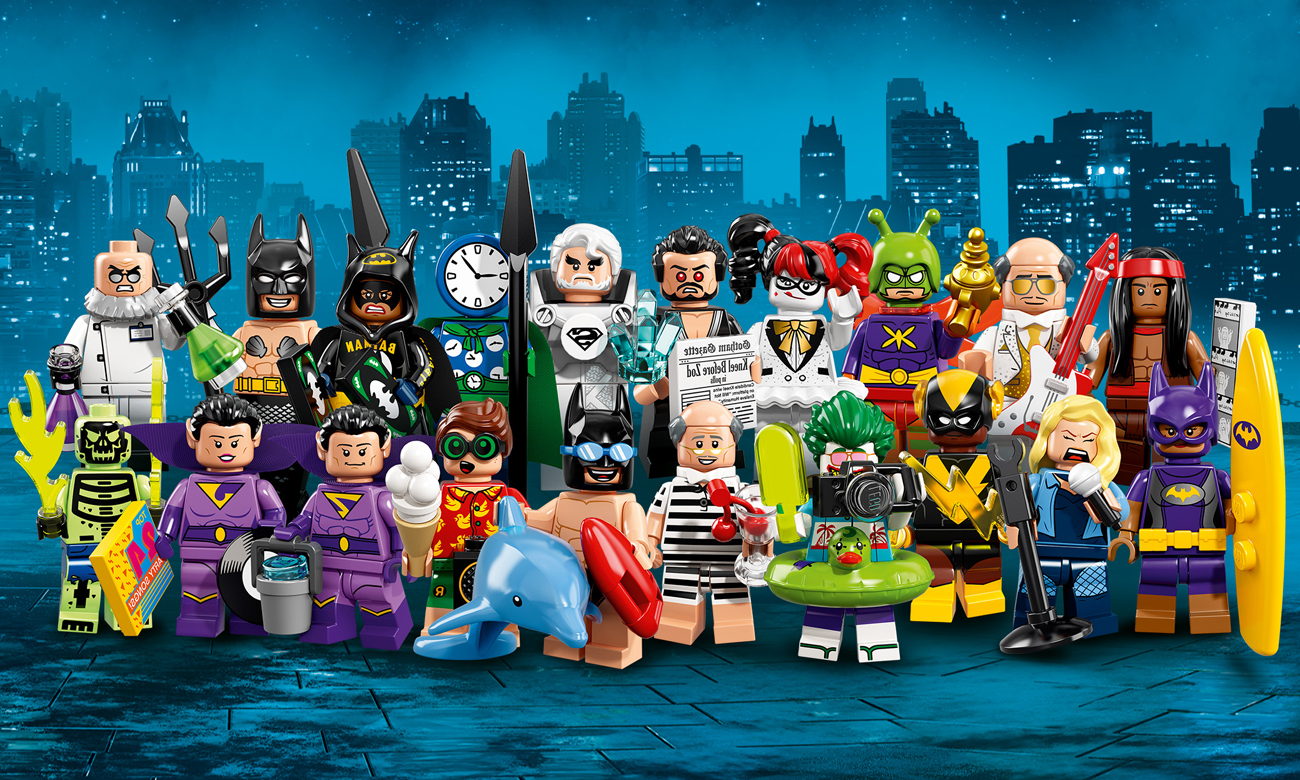 LEGO® Minifigures Batman The Movie seria 2