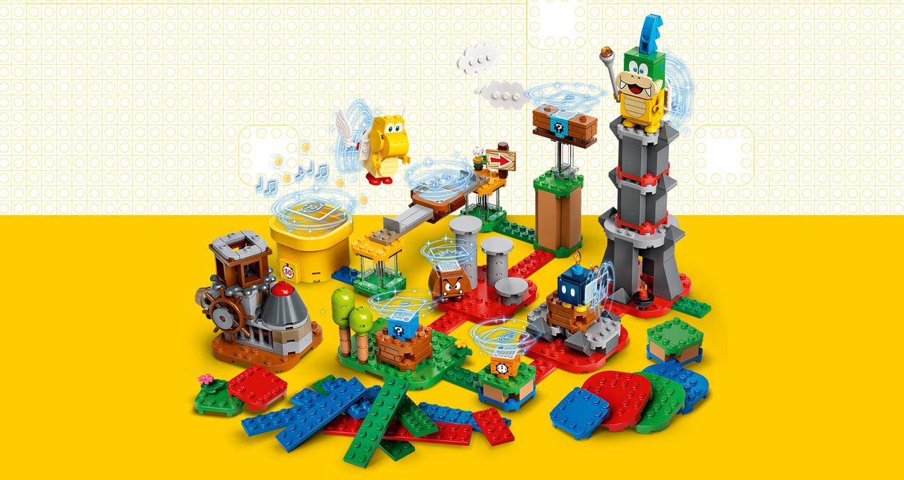 LEGO Super Mario Mistrzowskie przygody - zestaw twórcy