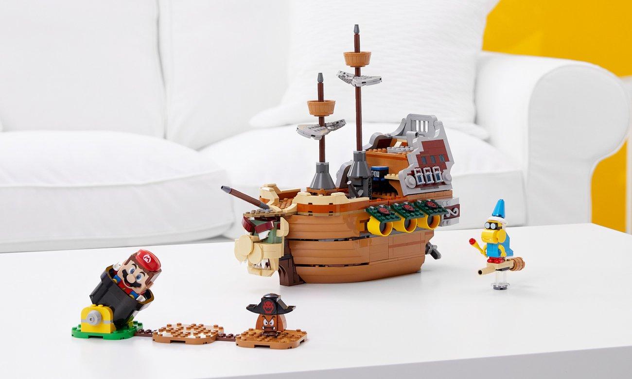 LEGO Super Mario Sterowiec Bowsera — zestaw dodatkowy
