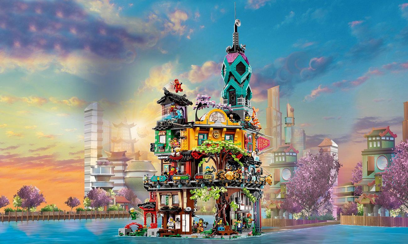 LEGO NINJAGO Ogrody miasta