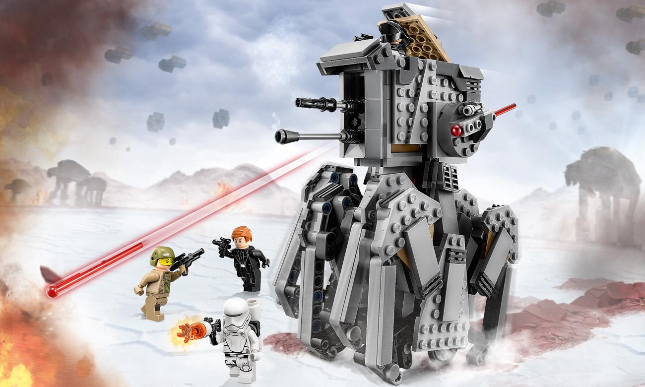 LEGO Star Wars Ciężki zwiadowca Najwyższego Porządku