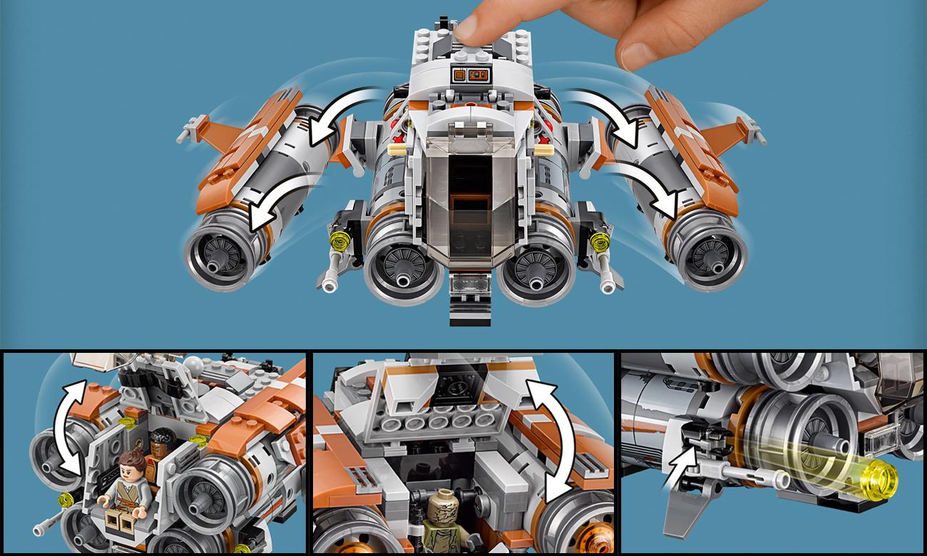 lego star wars quadjumper