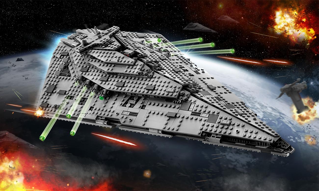 LEGO Star Wars Niszczyciel gwiezdny Najwyższego Porządku