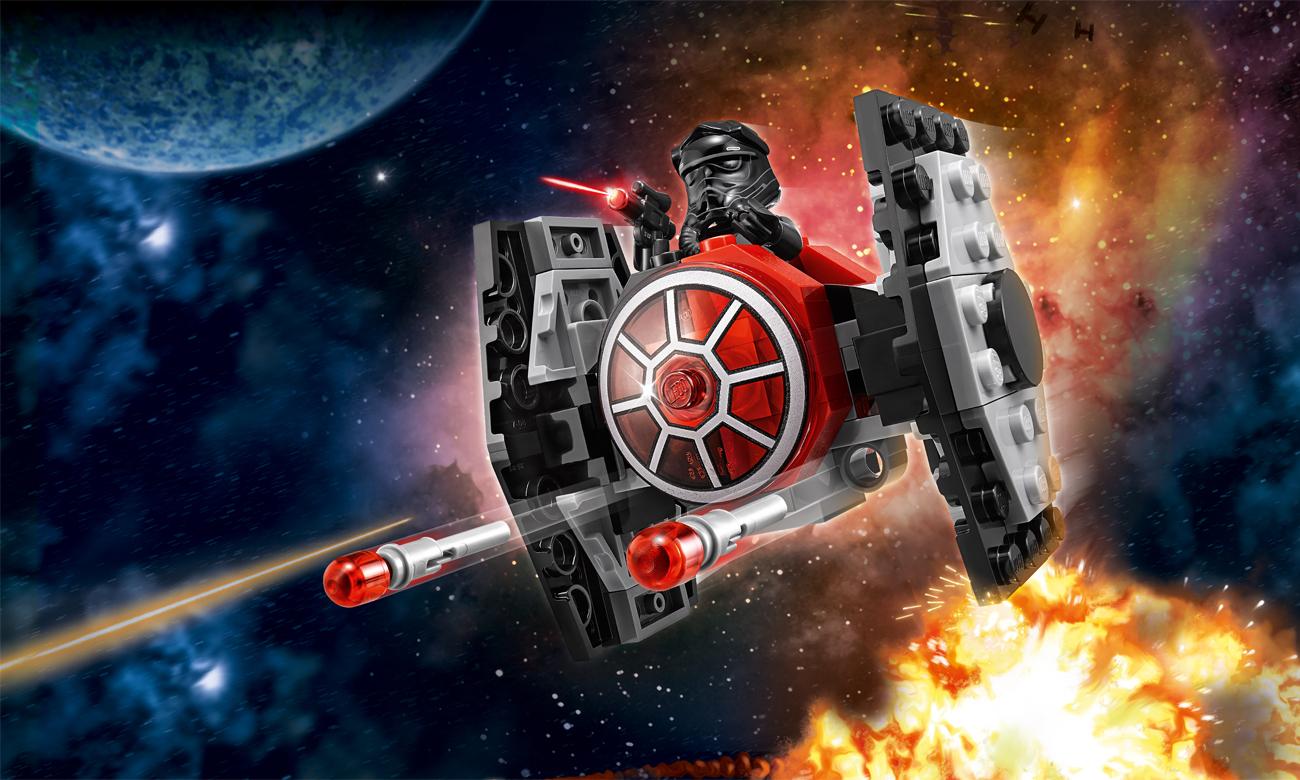 LEGO® Star Wars™ Myśliwiec TIE Najwyższego porządku