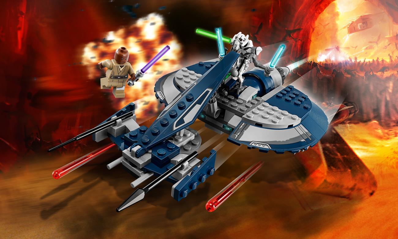 LEGO Star Wars Ścigacz bojowy generała Grievousa